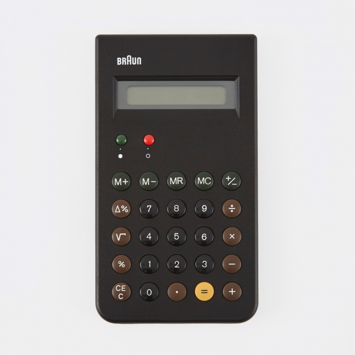 Braun Calculator - Black (Image 1)