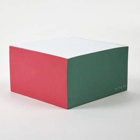 Colour Block Post-It Notes - Red/Grey/Green