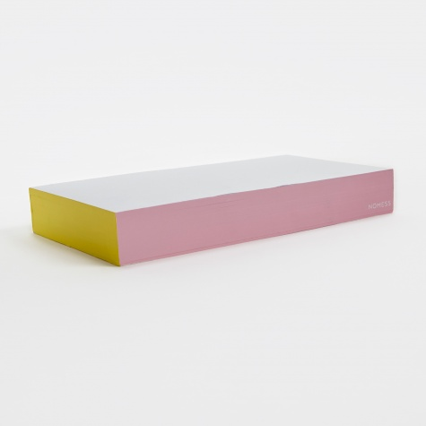 Colour Block Post-It Notes - Pink/Yellow