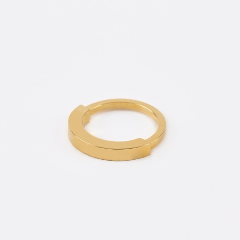 Round Aeon Ring - Gold