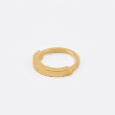 The Boyscouts Round Aeon Ring - Gold