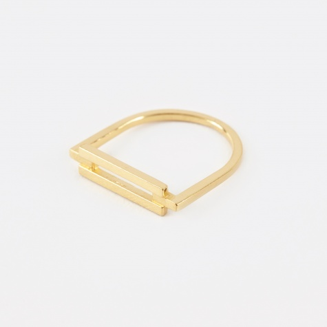 RIVET Ring - 18K Gold Plated