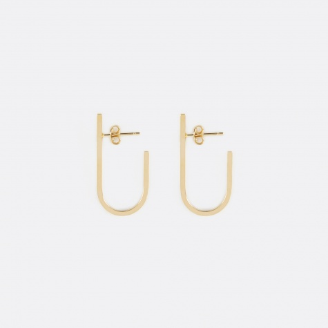 RIVET Earrings (Pair) - 18K Gold Plated