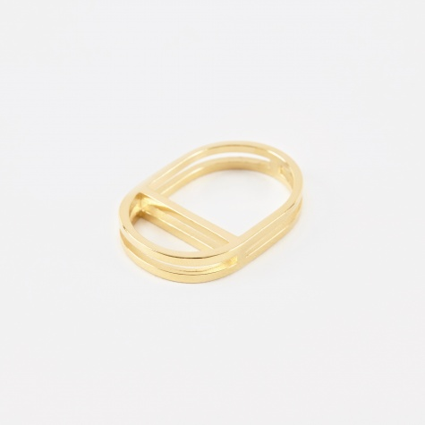 TROVE Ring - 18K Gold Plated