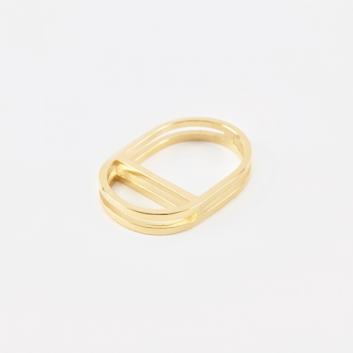 The Boyscouts TROVE Ring - 18K Gold Plated (Image 1)