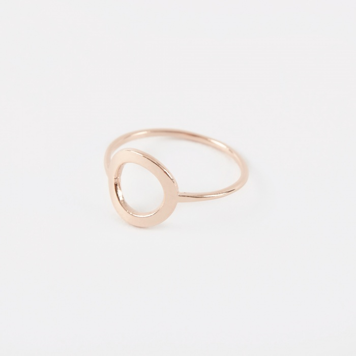 The Boyscouts CRUSADE Round Ring - 18K Rose Gold Plated (Image 1)