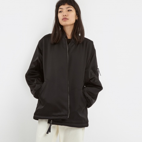 T By Alexander Wang Bomber Jacket - Black