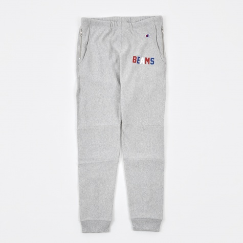 Beams x Champion Reverse Weave Sweat Pants - Grey