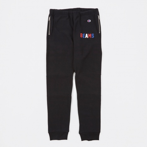Beams x Champion Reverse Weave Sweat Pants - Black