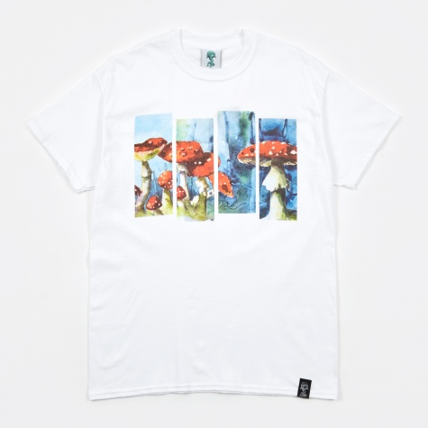 Magical Porcini Tee - White