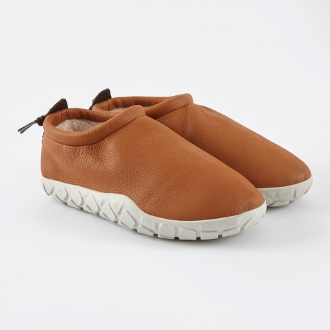 Moc Bomber - Cognac/Light Bone