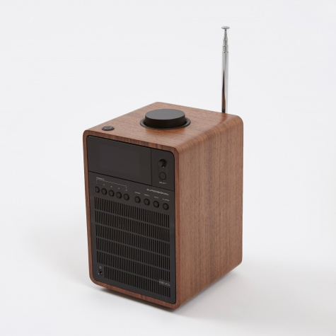SuperSignal DAB/FM Bluetooth Radio - Walnut & Black