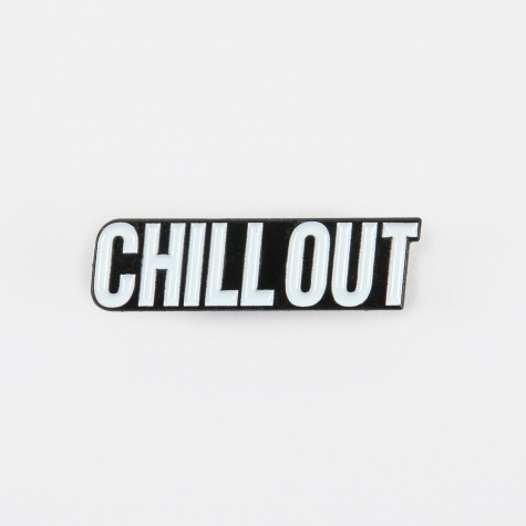 Enamel Pin - White/Black