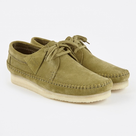 Clarks Weaver - Forest Green
