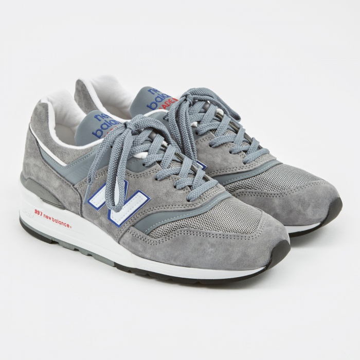 New Balance M997 - Grey/Blue/Red (Image 1)
