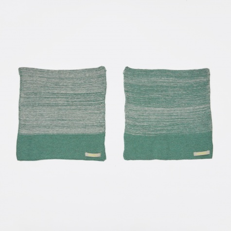 Dish Cloth - Green Melange