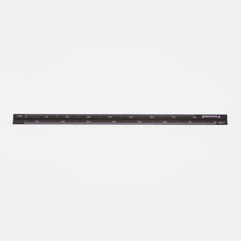 Penco Drafting Scale Ruler - Black