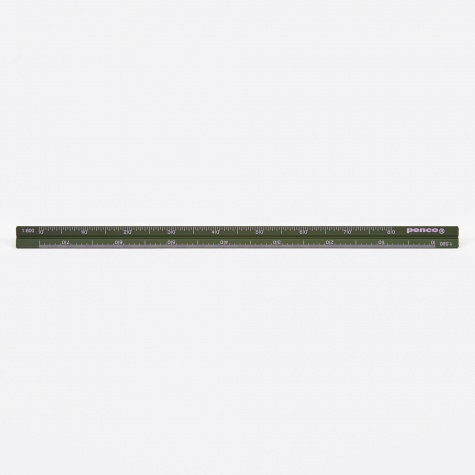 Penco Drafting Scale Ruler - Green