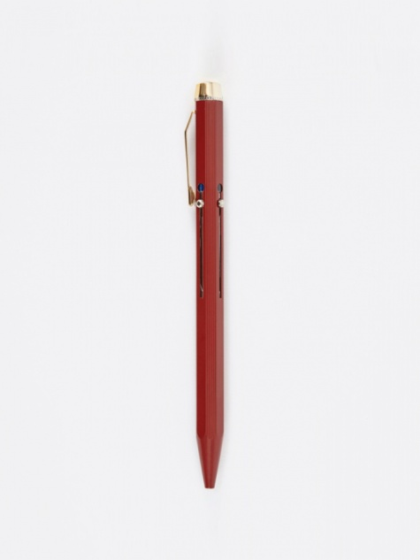 Hightide 4 Colour Ballpoint Pen - Red