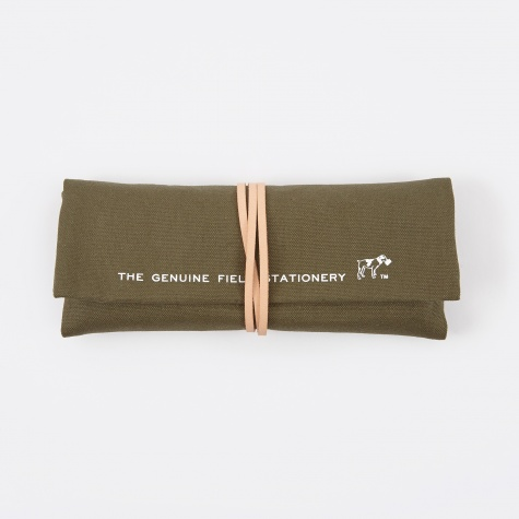 FIELD Roll Pen Case - Khaki