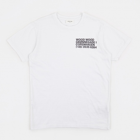 Slater T-Shirt - Bright White