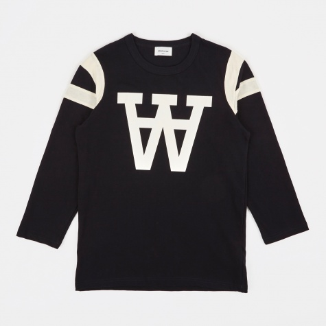 William Longsleeve T-Shirt - Navy