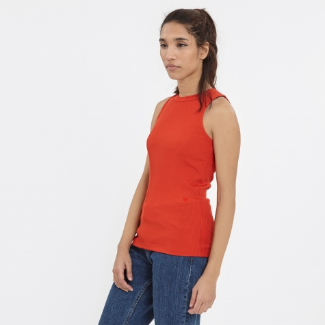Isabel Top - Burnt Red