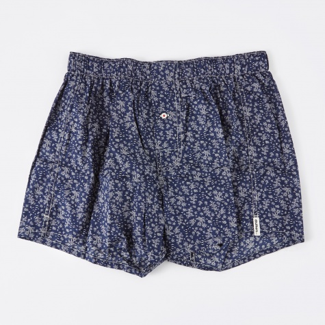 Real Floral Boxer Short - Navy