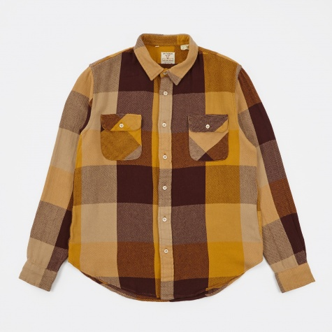LVC Shorthorn Shirt - Yellow/Brown