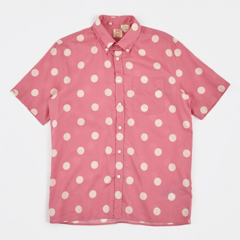 LVC 1960's SS Button Down Shirt - Ceri
