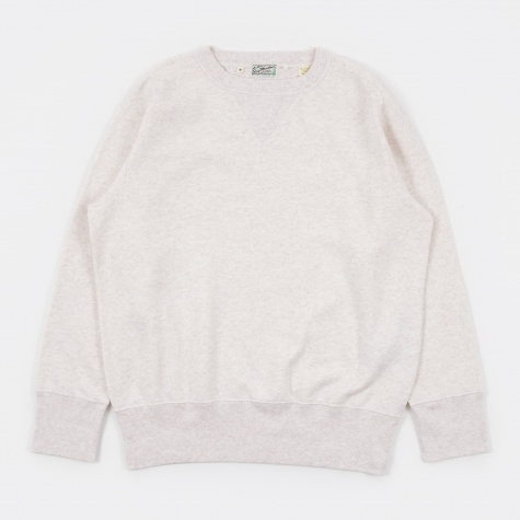 LVC Bay Meadows Sweatshirt - White Mele