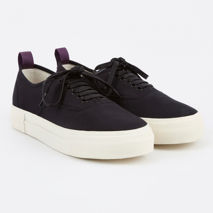 Eytys Mother Canvas Sneakers- Black (Image 1)