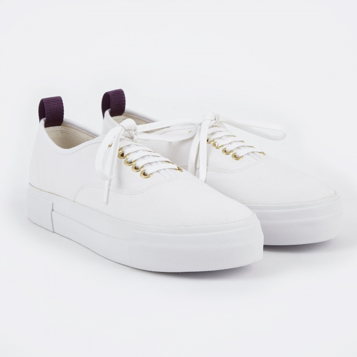 Eytys Mother Canvas Sneakers - White (Image 1)
