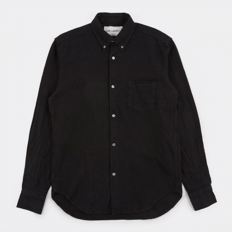 1950s Shirt -  Black Oxford