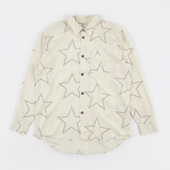 Our Legacy Initial Shirt - White Silk Star (Image 1)