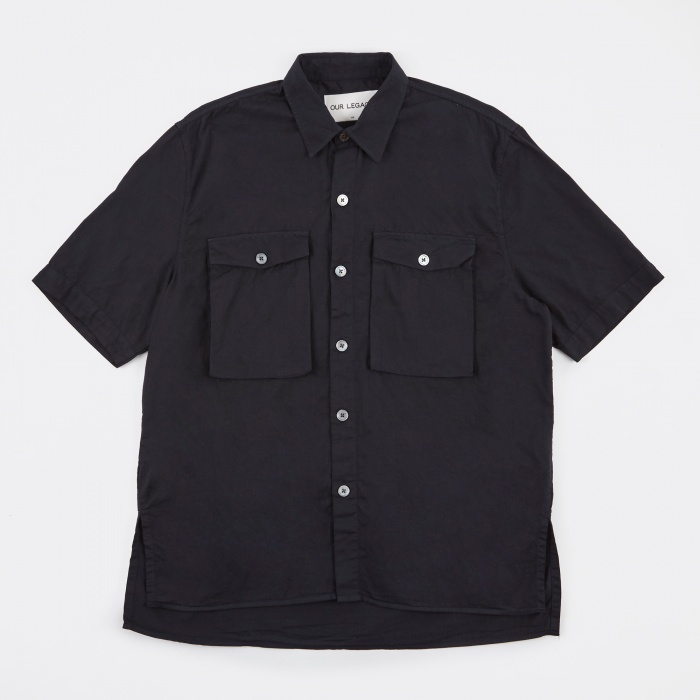 Our Legacy Uniform Shirt - Dark Navy Light Drill (Image 1)