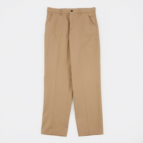 Chino Trousers 22 - Khaki Work Twill