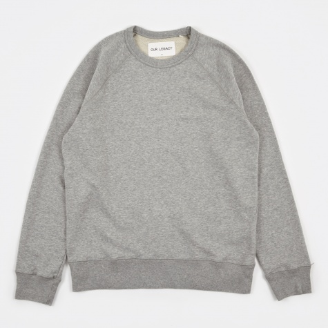 50's Great Sweat - Grey Melange Sweat