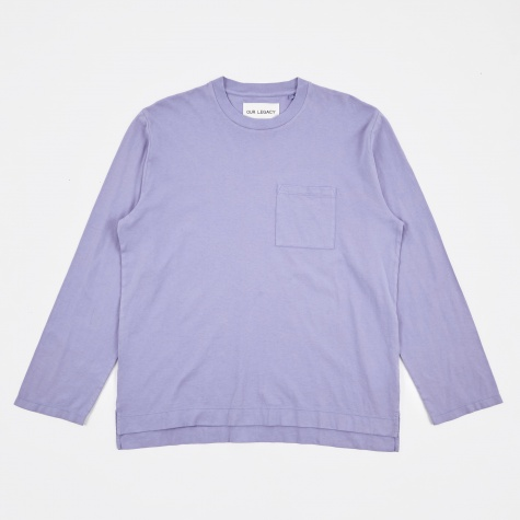 Box Longsleeve T-Shirt - Orchid Army Jersey