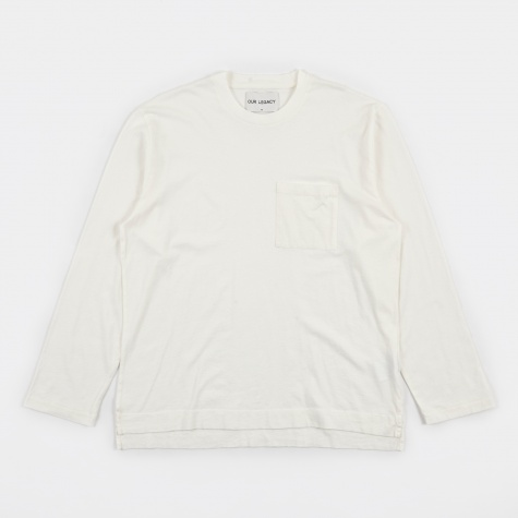 Box Longsleeve - White Army Jersey