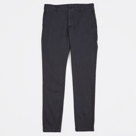 Slim Taper Trousers - Navy
