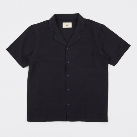 Pop Piano Shirt - Soft Navy