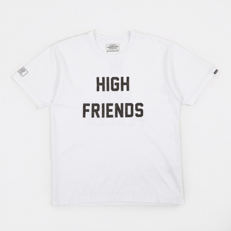 x Fuct SSDD High Friends T-Shirt - White