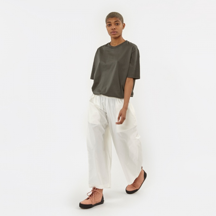 LF Markey Brunell Culotte Trousers - White (Image 1)