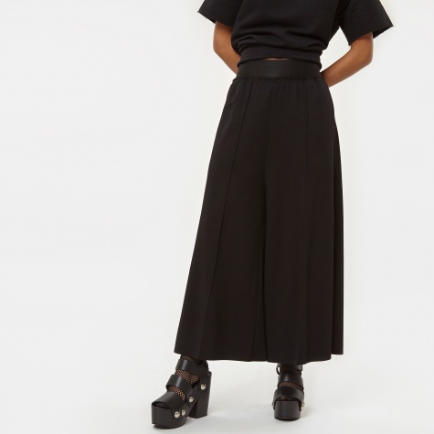 MM6 Jersey Crop Trousers - Black