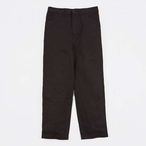 Wide Leg Trousers - Black