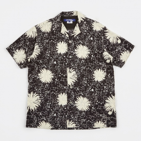 Voile Print Shirt - Black/White
