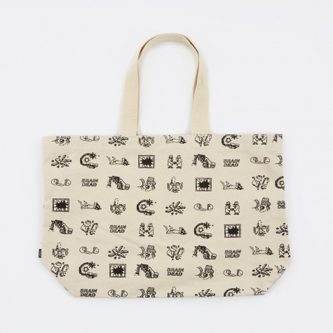 Vault x Brain Dead Tote Bag - Natural