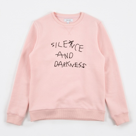 Silence Sweat Embroidery - Pink