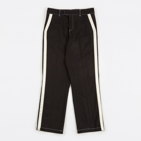 Greco Heavy Pant Taped Seam - Black